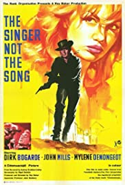 The Singer Not the Song Poster