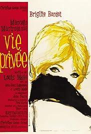 A Very Private Affair(1962) Poster - Movie Forum, Cast, Reviews
