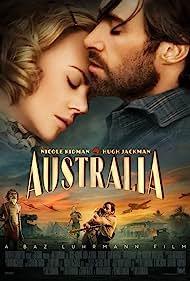 Nicole Kidman, David Gulpilil, Hugh Jackman, and Brandon Walters in Australia (2008)