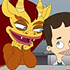 Maya Rudolph and Nick Kroll in Big Mouth (2017)