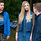 Poppy Lee Friar, Oliver Woollford, and Elijah Ayite in Eve (2015)
