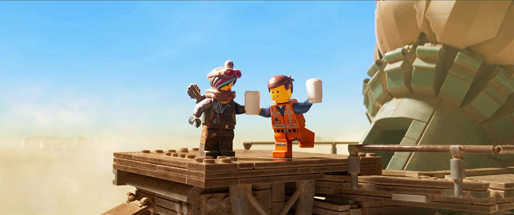In de Engelse versie van The Lego Movie 2 trailer 2 hoor je de stem van Chris Pratt dubbel
