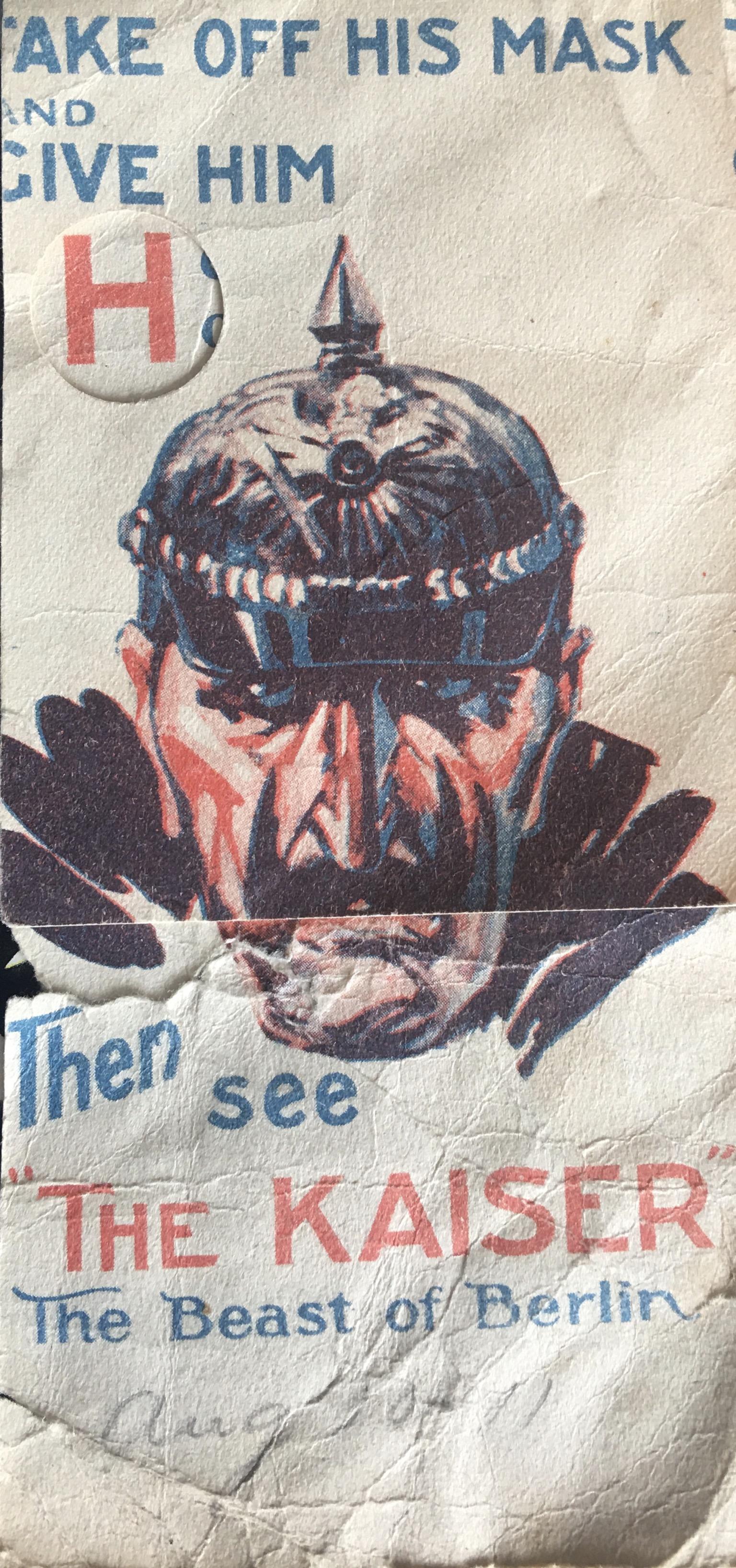 The Kaiser, the Beast of Berlin (1918)
