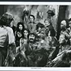 James Earl Jones, Geneviève Bujold, Robert Shaw, and Avery Schreiber in Swashbuckler (1976)