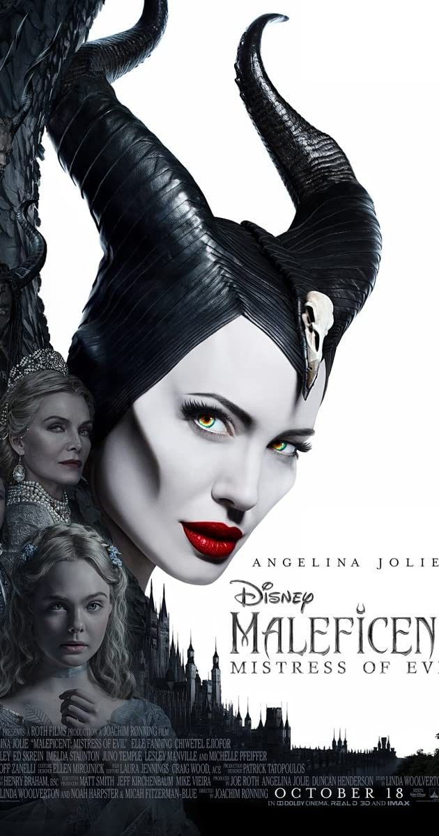 Maleficent Mistress of Evil (2019) 720p BluRay x264 Esubs [Dual Audio] [Hindi (Cleaned) - English]