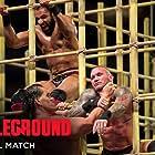 Randy Orton, Dalip Singh, and Yuvraj Dhesi in WWE: Battleground (2017)