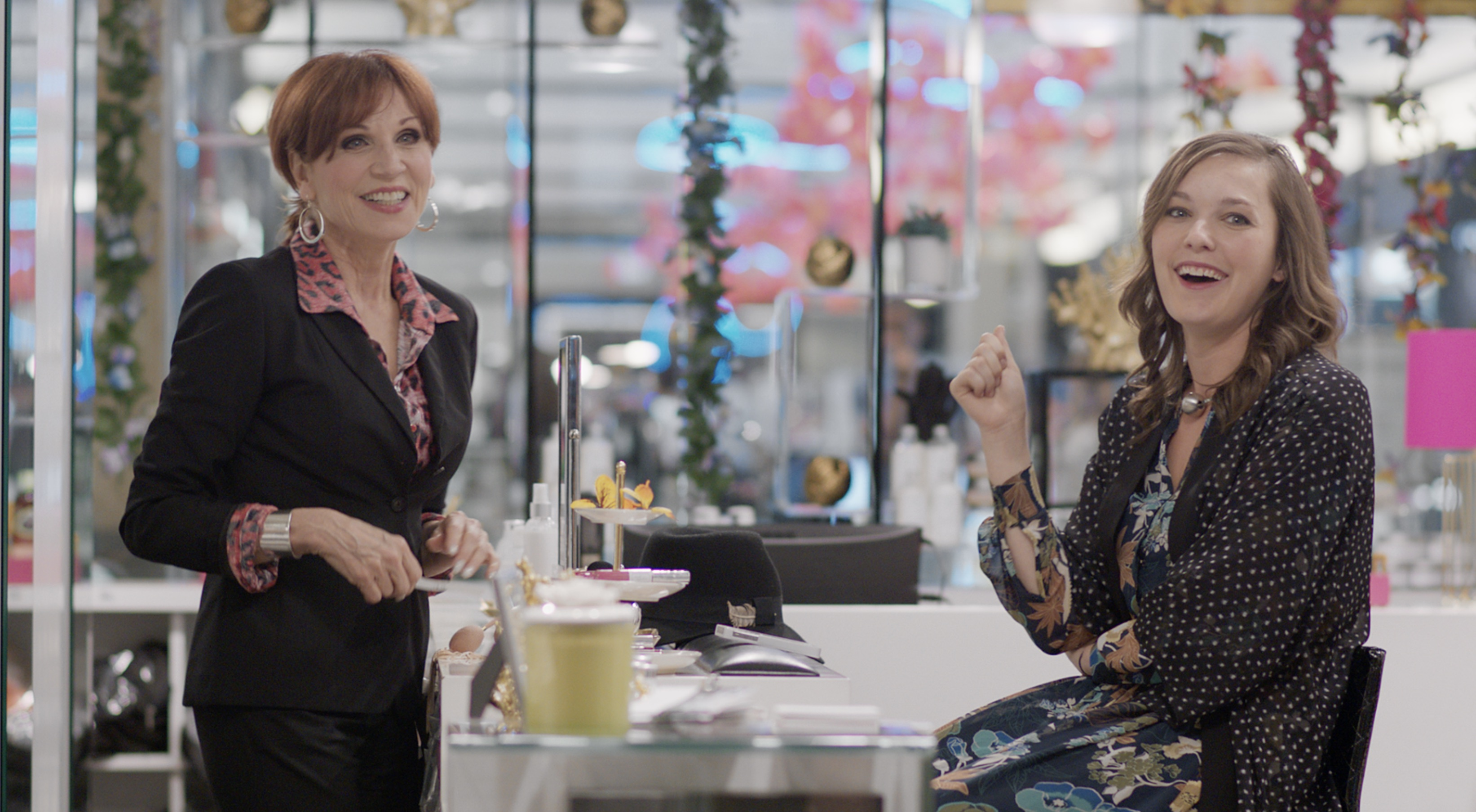 Marilu Henner and Virginia Kull in Imperfections (2018)