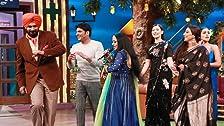 Team Begum Jaan in Kapil's Show