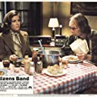 Roberts Blossom and Candy Clark in Citizens Band (1977)