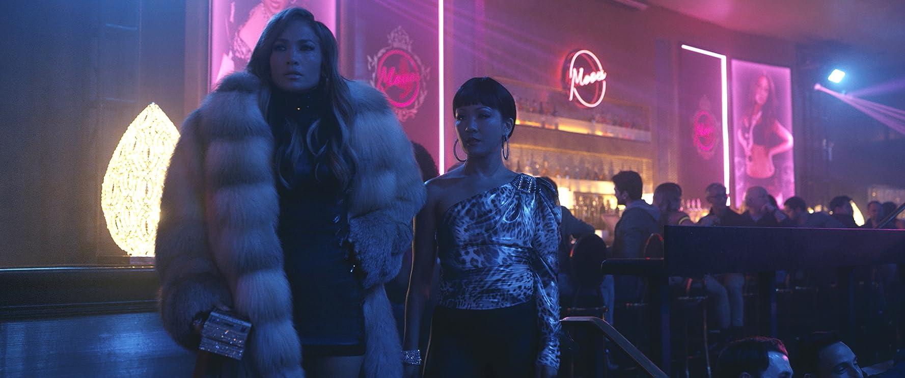 Jennifer Lopez and Constance Wu in Hustlers (2019)