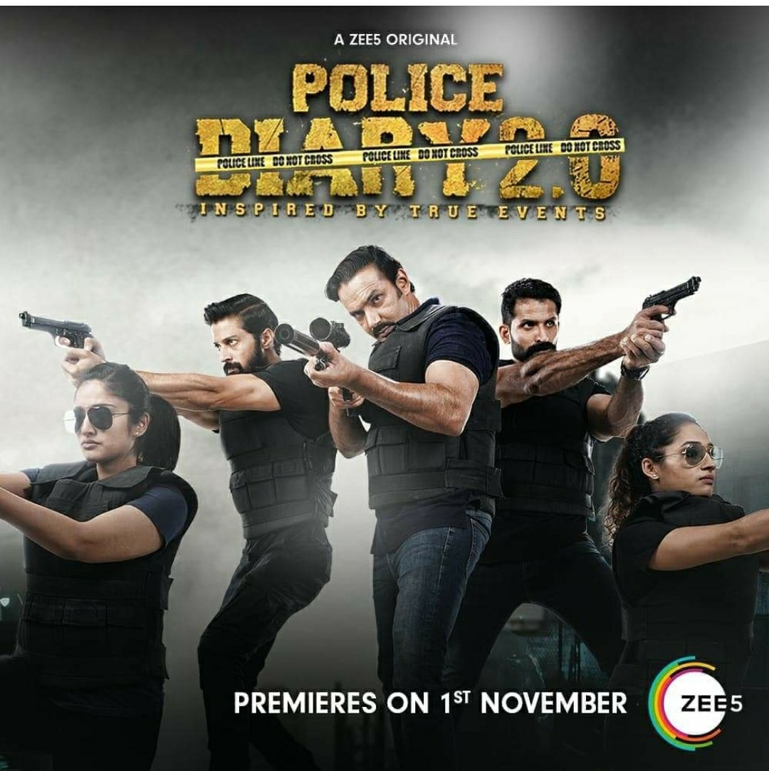 18+ Police Diary 2.0 (2020) Hindi Complete Web Series 720p HDRip 800MB