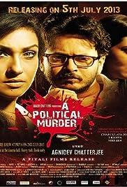 A Political Murder Poster