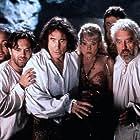 Keith Allen, Bernard Cribbins, Sara Crowe, Jim Dale, Peter Richardson, and Alexei Sayle in Carry on Columbus (1992)
