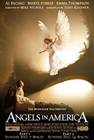 Al Pacino and Emma Thompson in Angels in America (2003)