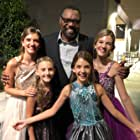 Carissa Bazler with sisters and Petri Hawkins Byrd at Young Artist Awards 2018