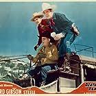 Hoot Gibson, Ken Maynard, and Bob Steele in Death Valley Rangers (1943)