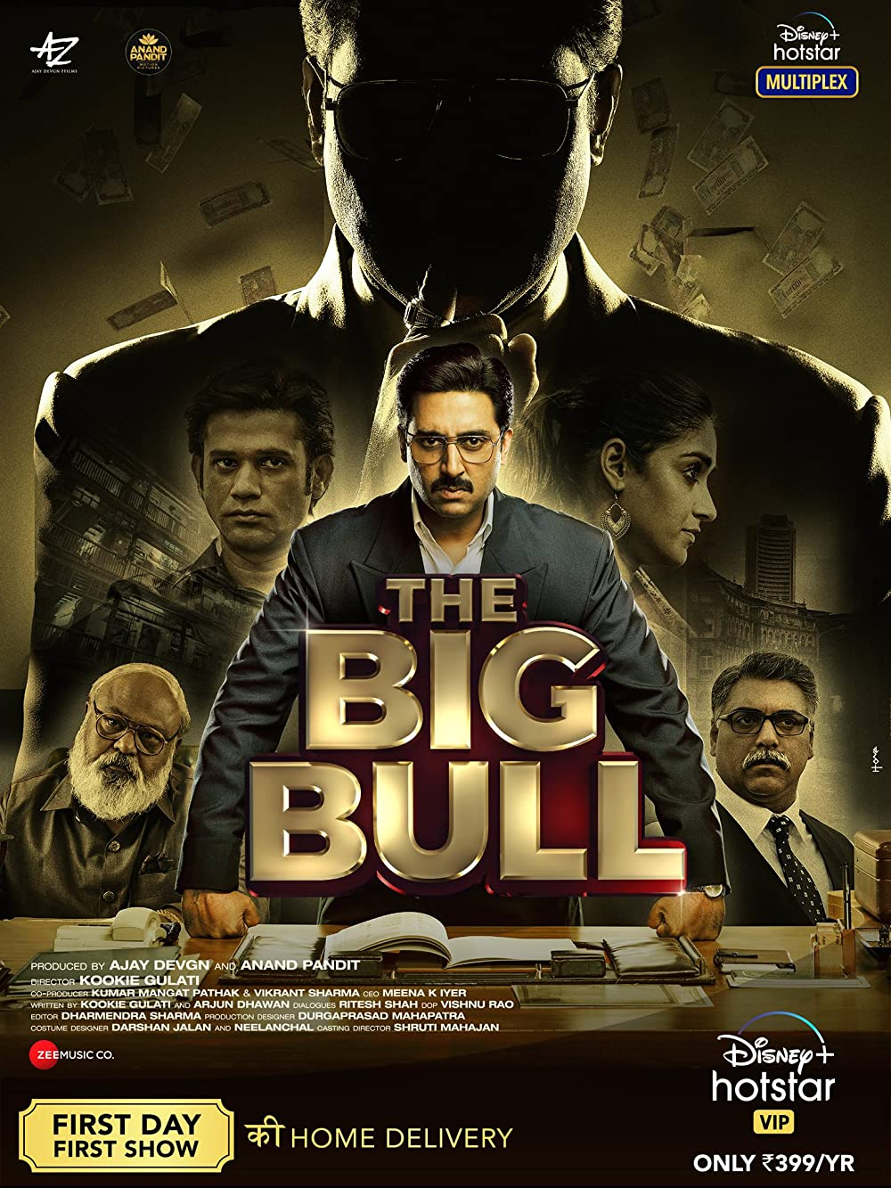 Download The Big Bull 2021 Hindi Movie 480p DSNP HDRip ESubs 500MB