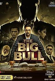Abhishek Bachchan, Ram Kapoor, Saurabh Shukla, Ileana D'Cruz, and Sohum Shah in The Big Bull (2021)