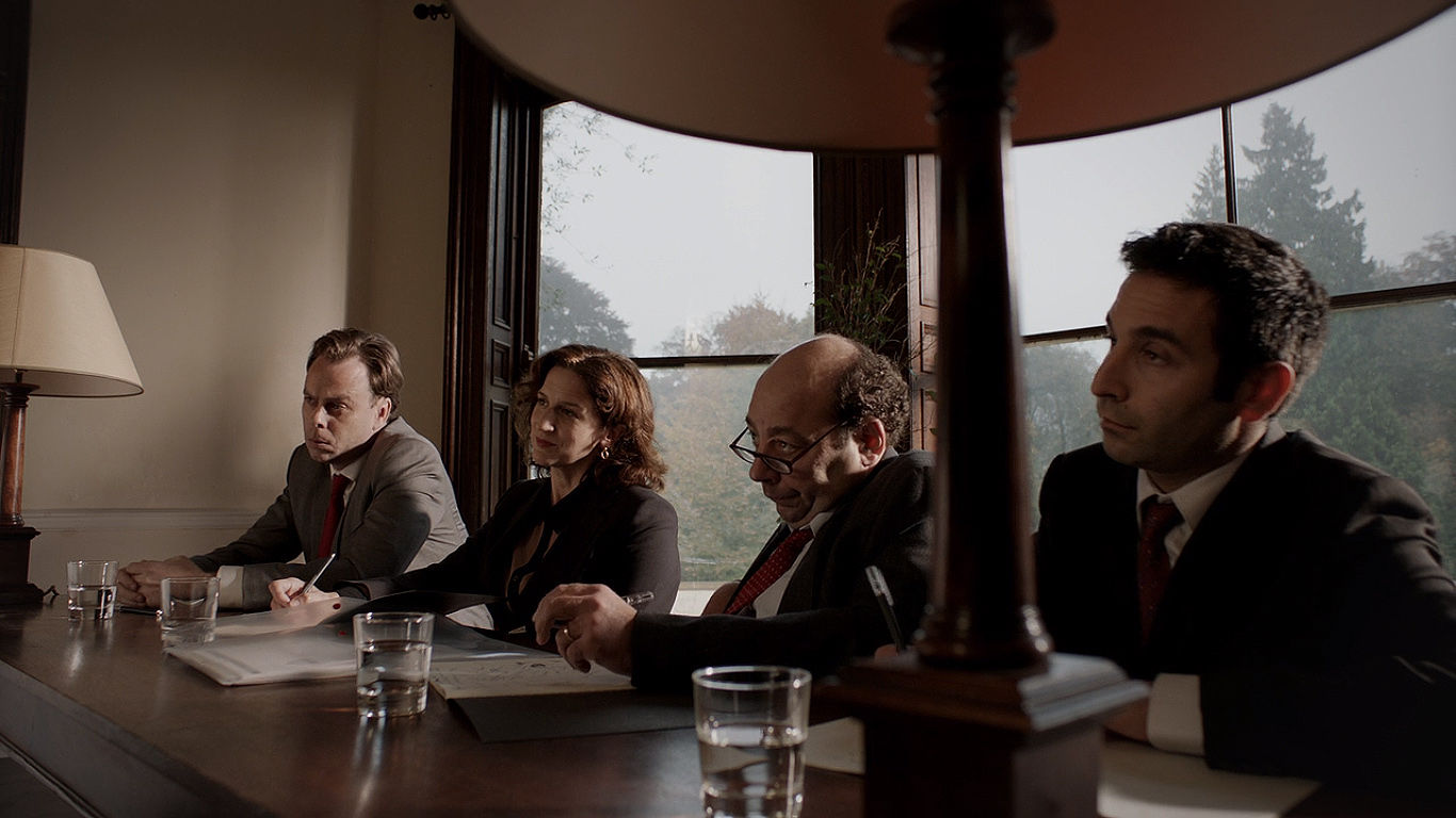 Abigail Thaw, Michael Webber, and Bruce Mackinnon in Black Mirror (2011)