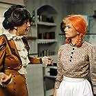 Ivana Andrlová and Kveta Fialová in O zrzave Andule (1988)