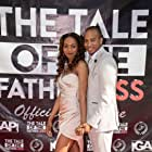Stefan Davis and Sadé Davis at an event for The Tale of the Fatherless (2021)