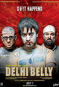 Imran Khan, Vir Das, and Kunaal Roy Kapur in Delhi Belly (2011)