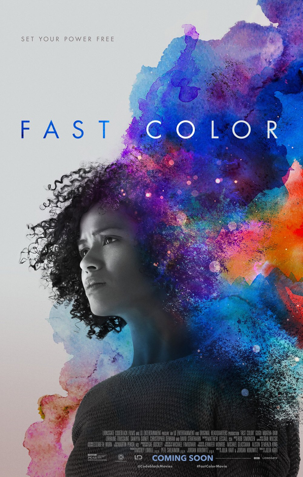 Image result for fast color movie poster