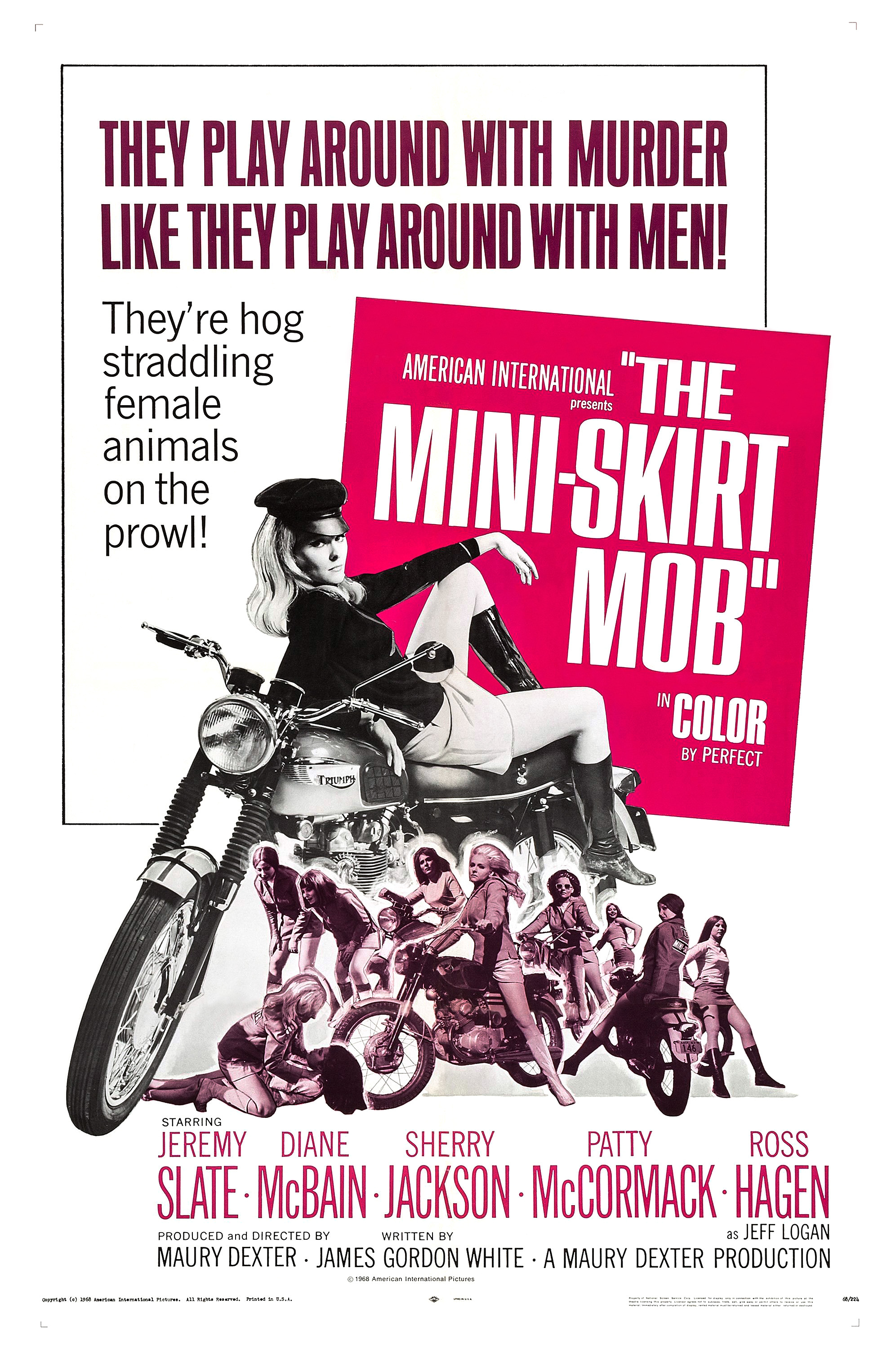 The Mini Skirt Mob 1968 Imdb