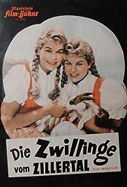 Die Zwillinge vom Zillertal Poster