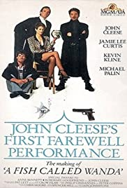 John Cleese's First Farewell Performance Poster