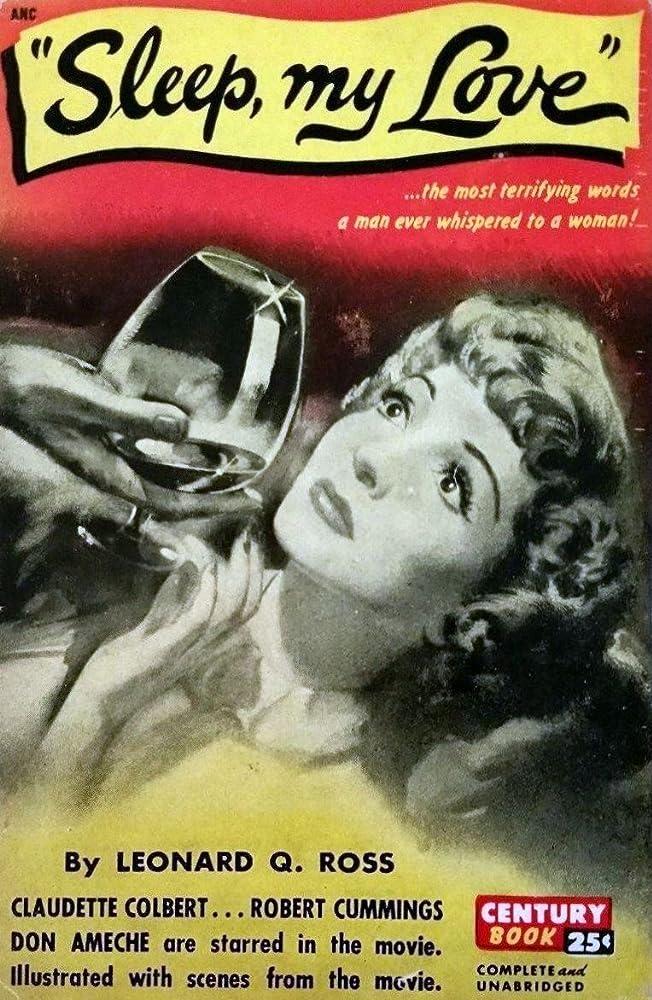 Claudette Colbert in Sleep, My Love (1948)