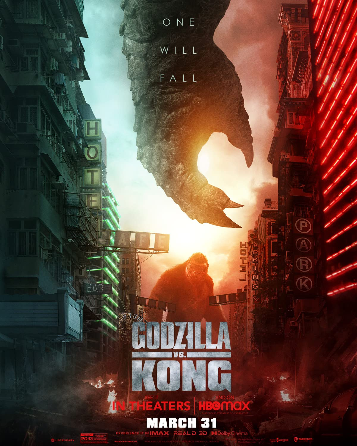 Godzilla Vs Kong (2021) Dual Audio [Hindi – English] HDCAM x264 AAC
