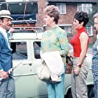 Amelia Bayntun, Bernard Bresslaw, Sidney James, Dilys Laye, and Joan Sims in Carry on Camping (1969)