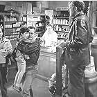 Frank Lovejoy, Edmond O'Brien, and William Talman in The Hitch-Hiker (1953)
