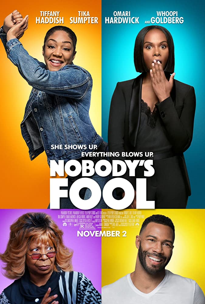 Whoopi Goldberg, Omari Hardwick, Tika Sumpter, and Tiffany Haddish in Nobody's Fool (2018)