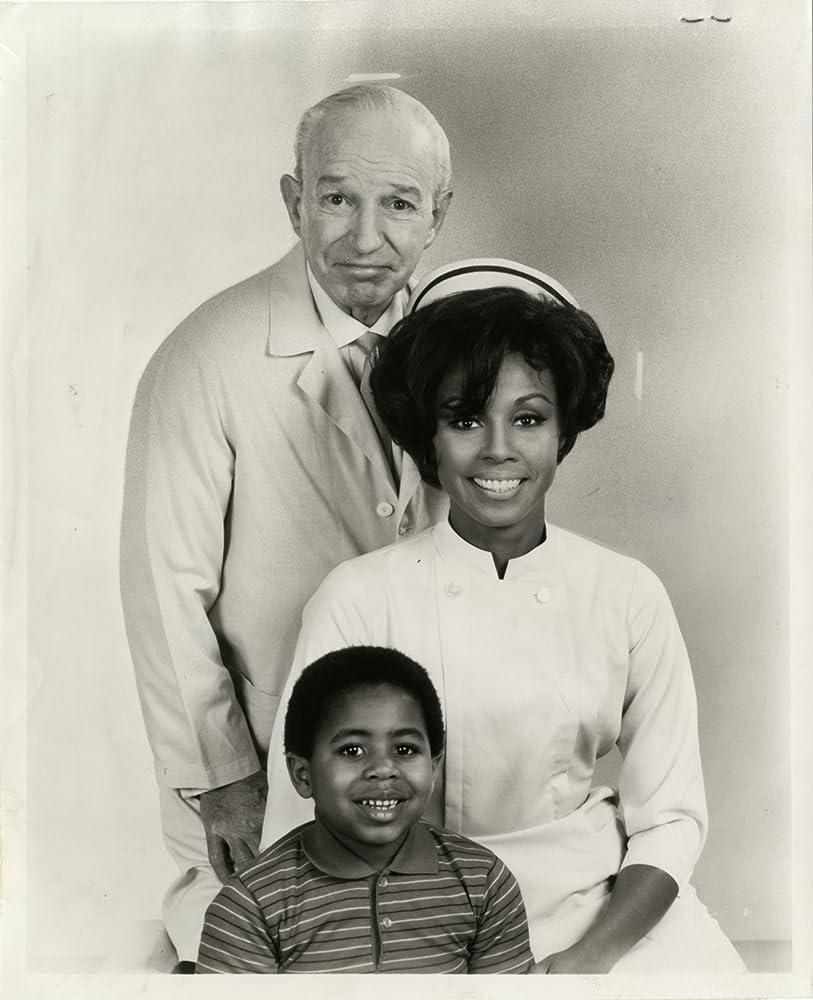 Diahann Carroll Marc Copage and Lloyd Nolan in Julia 1968