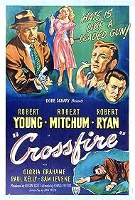 Crossfire (1947) Poster - Movie Forum, Cast, Reviews
