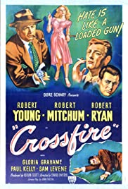 Crossfire (1947) Poster - Movie Forum, Cast, Reviews