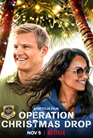Kat Graham and Alexander Ludwig in Operation Christmas Drop (2020)