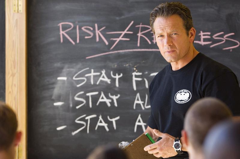 "Rick Ravanello in ""Smoke Jumpers"" aka ""Trial by Fire"""