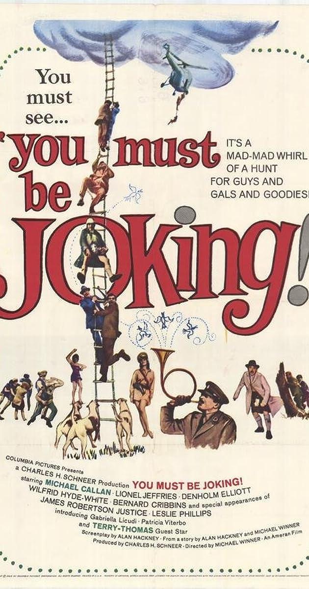 You Must Be Joking 1965 You Must Be Joking 1965 User Reviews Imdb
