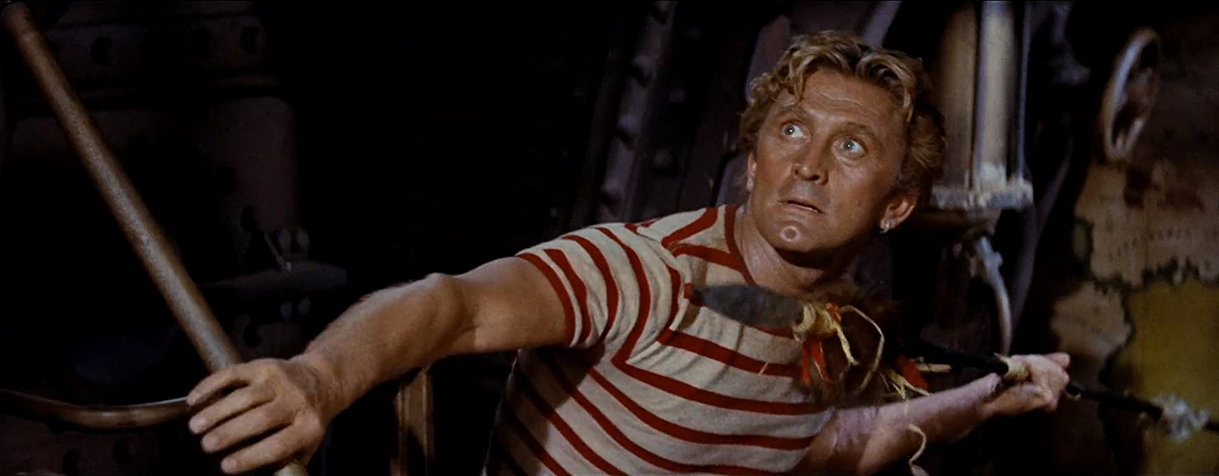 Kirk Douglas in 20,000 Leagues Under the Sea (1954)