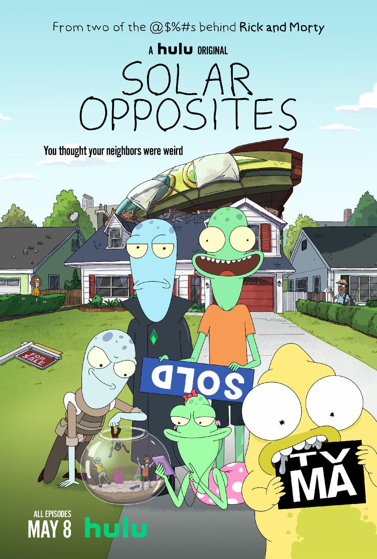 Saulės priešingybės (1 sezonas) / Solar Opposites