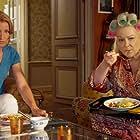 Josiane Balasko and Alexandra Lamy in Retour chez ma mère (2016)