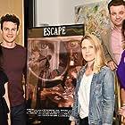 Karla Zamudio, Luke Cook, Rachael Meyers, and Alexandra Bayless in Escape (2016)