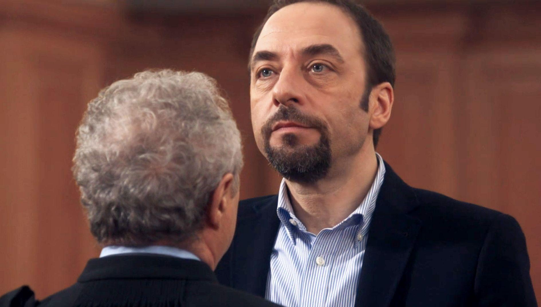 Pierre Poirot and Daniel Prévost in La loi de... (2014)
