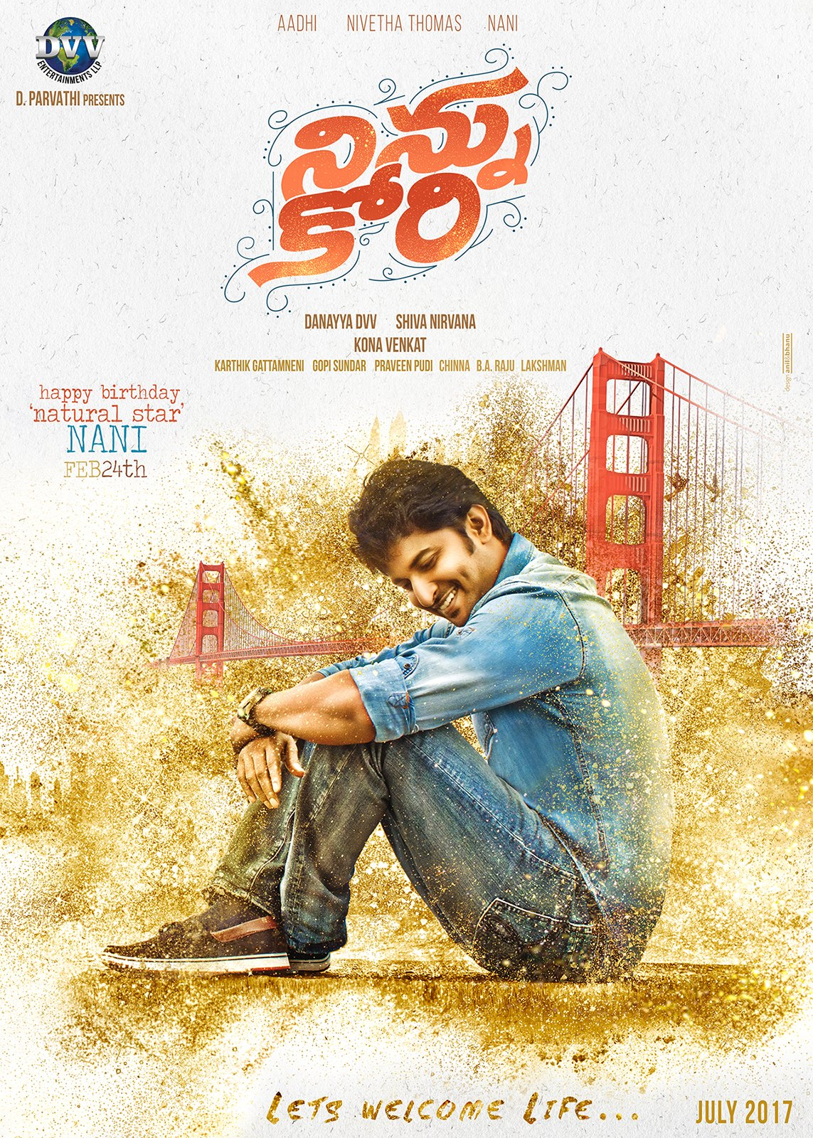 Ninnu Kori 2017 Hindi Dual Audio 450MB UNCUT HDRip Download