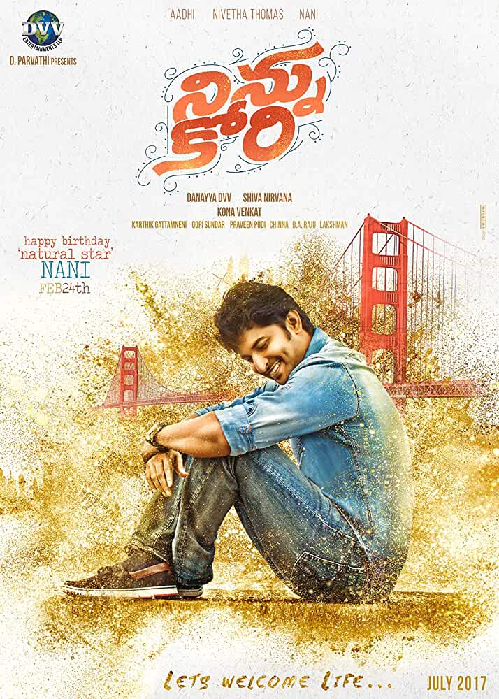 Ninnu Kori (2017) Dual Audio Uncut Hindi Dubbed x264 AAC ESUB