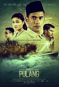 Remy Ishak, Erwin Dawson, Azrel Ismail, and Puteri Aishah in Pulang (2018)