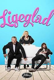 Helgi Björnsson, Vignir Rafn Valþórsson, and Anna Svava Knútsdóttir in Ligeglad (2016)